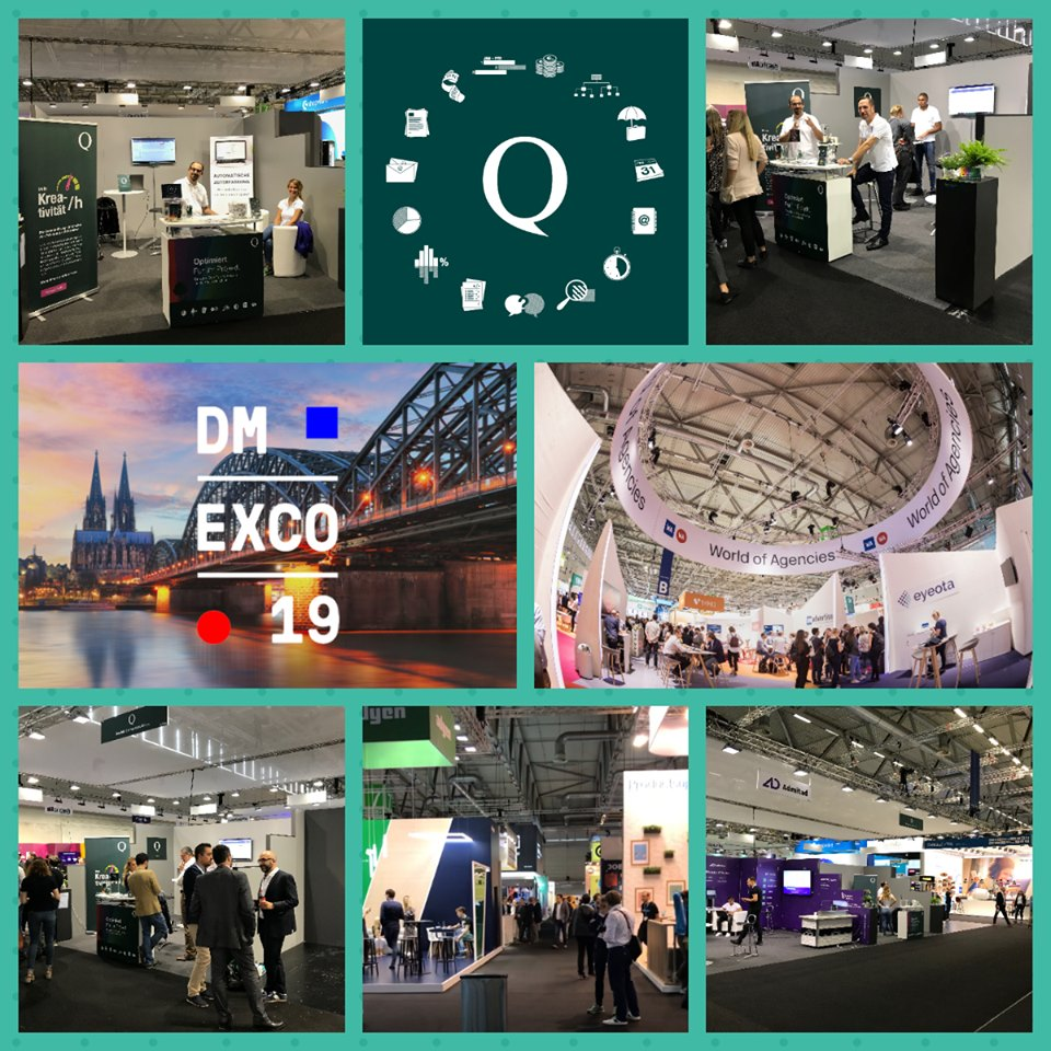 Collage QuoTec auf DMEXCO 2019