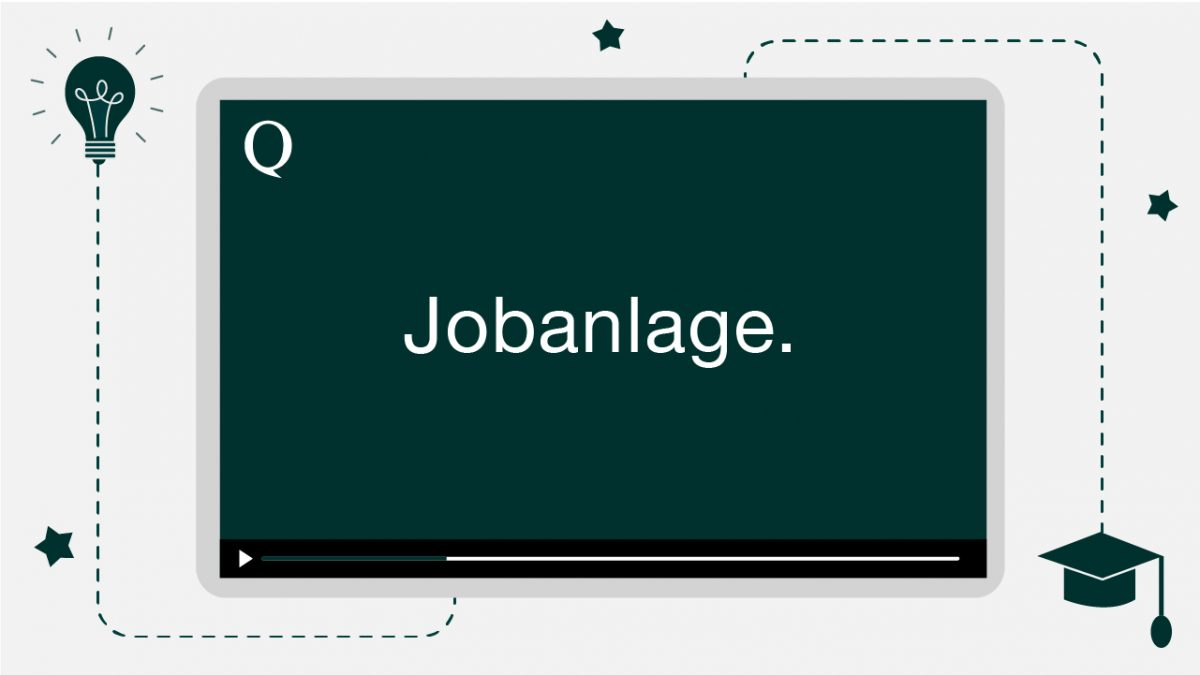 Tutorial Jobanlage